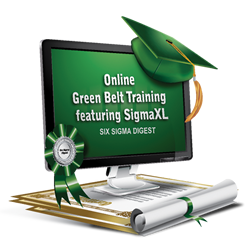 Six Sigma Green Belt Training - SigmaXL