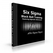 Black Belt Courseware + SigmaXL Software