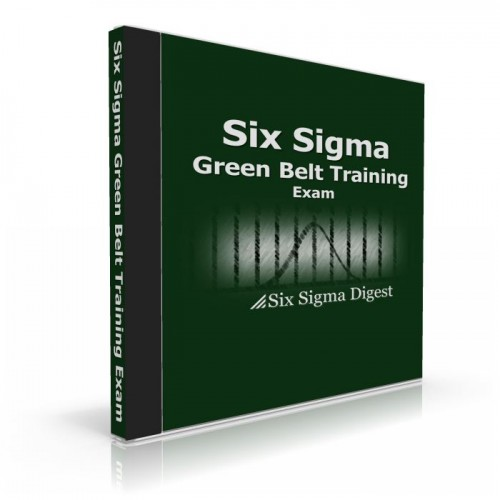 Green Belt exam (1/1)