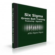 Green Belt Courseware + SigmaXL Software