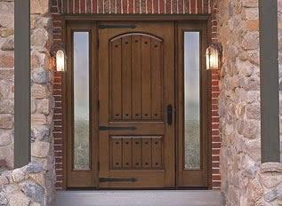 Fiberglass entry doors - Paint or stain fiberglass exterior doors concept ...